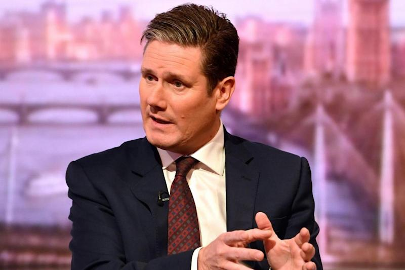 Pledge: Shadow Brexit Secretary Sir Keir Starmer (PA)