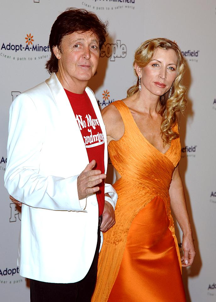 "<p class=""MsoNoSpacing"">After just four years of marriage, Paul McCartney and his second wife Heather Mills were plagued with divorce rumors in 2006, which she adamantly denied. ""Paul and I are together 100 percent,"" Mills claimed. Yet just one week later, they were more like zero percent. The two had one of the nastiest divorces in celebrity history, with the onetime topless model walking away with $50 million from the Beatle.</p>"