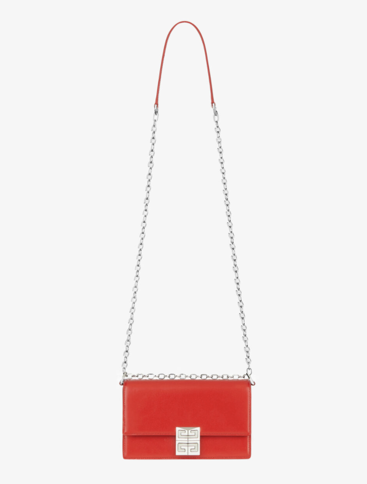 """<p><strong>Givenchy</strong></p><p>givenchy.com</p><p><strong>$1890.00</strong></p><p><a href=""""https://www.givenchy.com/us/en-US/small-4g-bag-in-box-leather-with-chain/BB50HEB15S-600.html#start=1"""" rel=""""nofollow noopener"""" target=""""_blank"""" data-ylk=""""slk:Shop Now"""" class=""""link rapid-noclick-resp"""">Shop Now</a></p><p>Because she's up to date on all the new releases.</p>"""