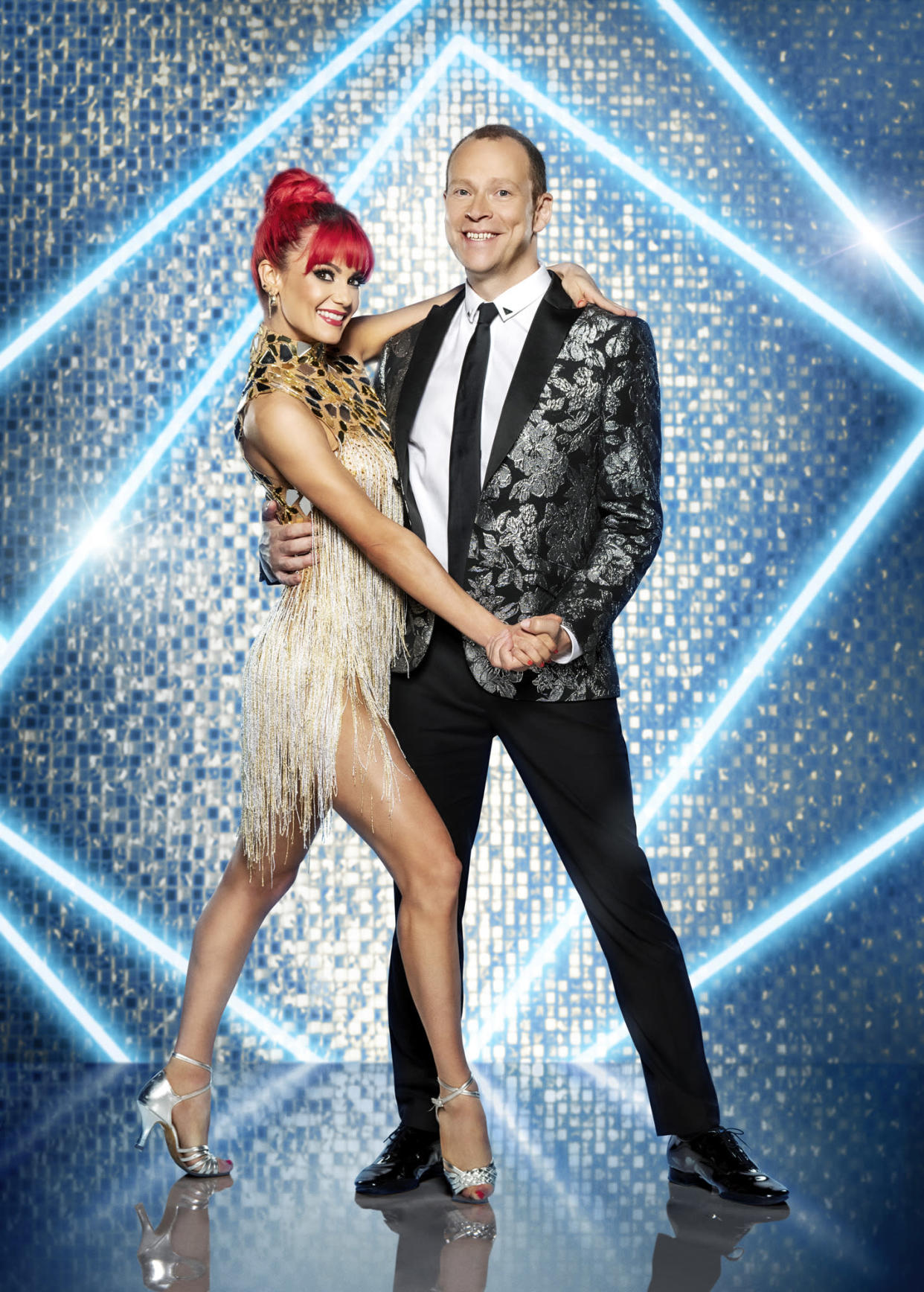 Programme Name: Strictly Come Dancing 2021 - TX: n/a - Episode: Strictly Come Dancing - Generics (No. n/a) - Picture Shows:  Dianne Buswell, Robert Webb - (C) BBC - Photographer: Ray Burmiston