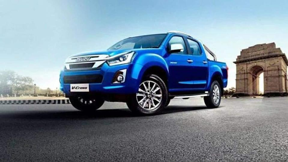 Prior to launch, 2021 ISUZU D-MAX V-Cross pick-up truck teased