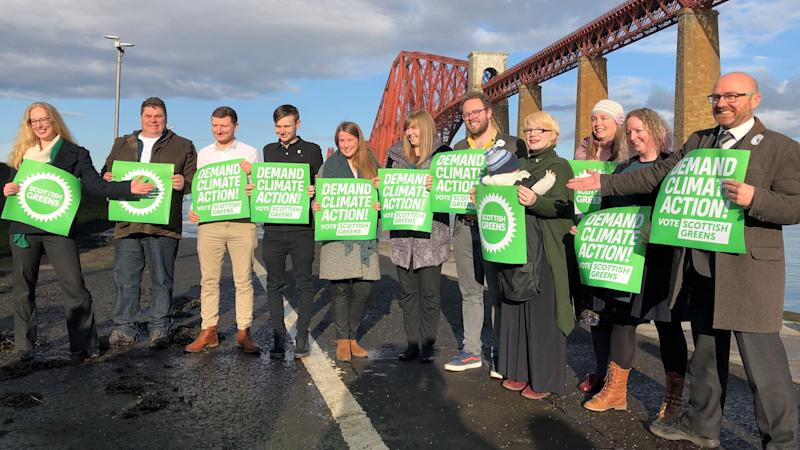 Scottish Greens vow to 'inject radical ideas' into politics