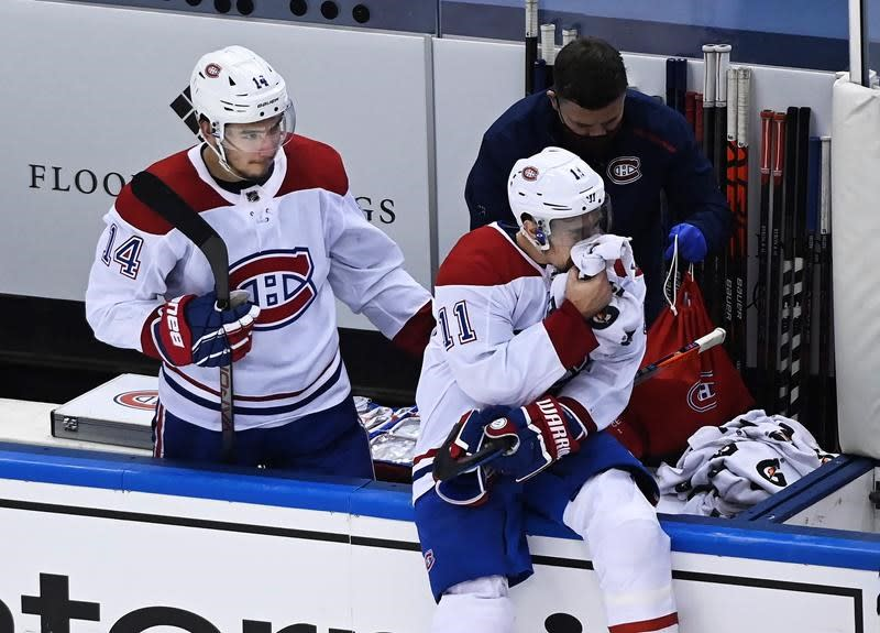 NHL Notebook: Habs' Gallagher out with broken jaw, Niskanen suspended for Game 6