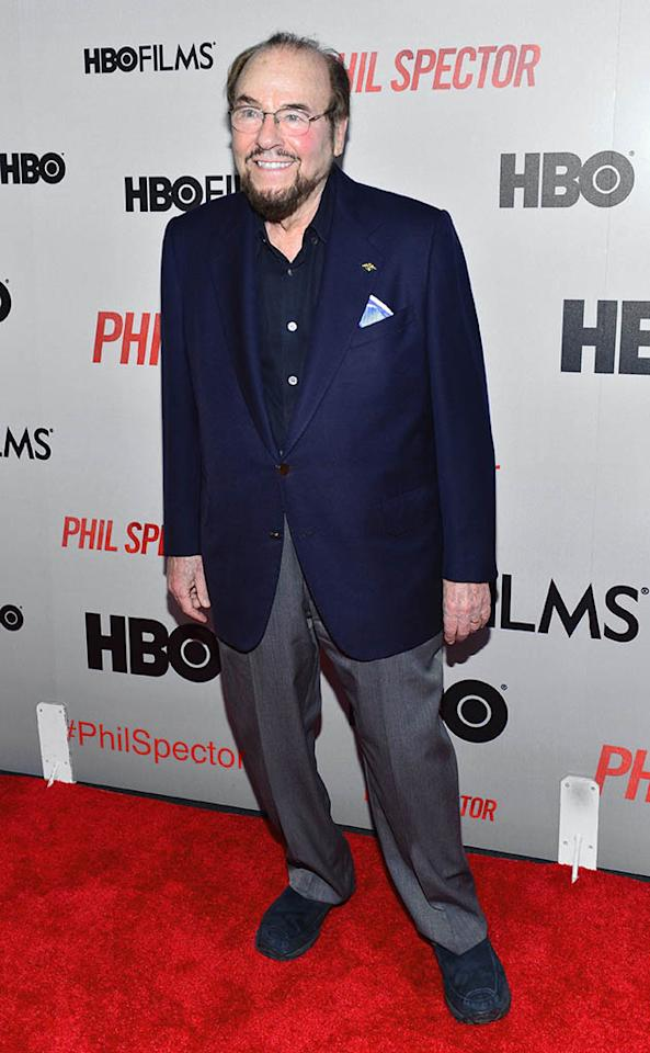 "James Lipton attends the ""Phil Spector"" premiere at the Time Warner Center on March 13, 2013 in New York City."