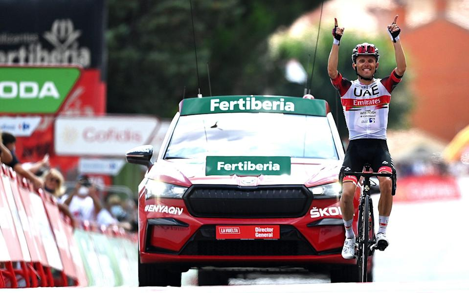 Rafal Majka - all the latest news and results from the 2021 Vuelta a España - GETTY IMAGES