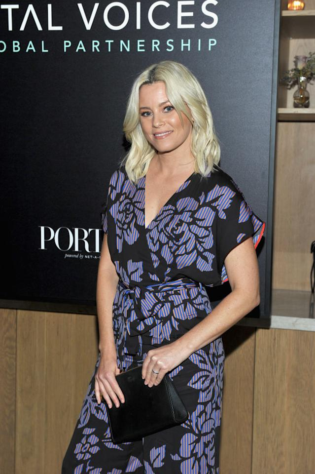 Elizabeth Banks attends a Hollywood gala on Nov. 1. (Photo: Donato Sardella/Getty Images for Porter Magazine)