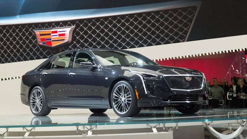 2019 Cadillac Ct6 V Sport Gets New 550 Hp Biturbo V8
