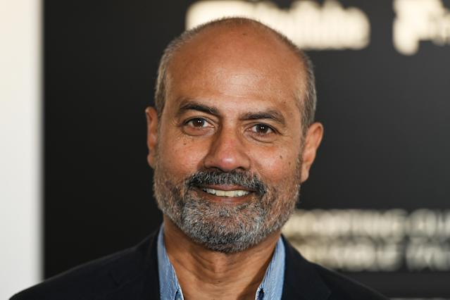 BBC News presenter George Alagiah says he is too busy living to worry about his cancer diagnosis. (Getty Images)