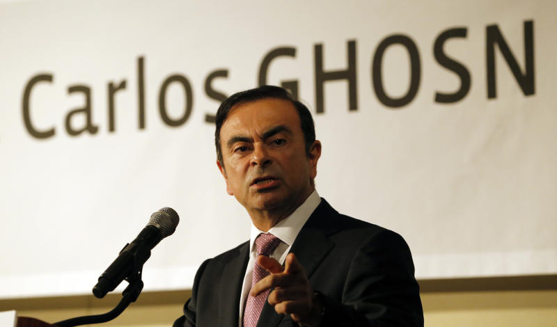 Nissan Motor Co. Chairman Carlos Ghosn speaks during a news conference in Seoul, South Korea, Friday, July 20, 2012. French-Japanese auto alliance of Renault and Nissan is investing $160 million in its South Korean Renault Samsung Motors to produce Nissan-branded vehicles mostly destined for the United States, taking advantage of the South Korea-U.S. free trade agreement and a more favorable exchange rate. (AP Photo/Lee Jin-man)