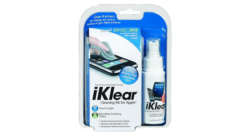 iKlear Cleaning Kit with Solution and Cleaning Cloth