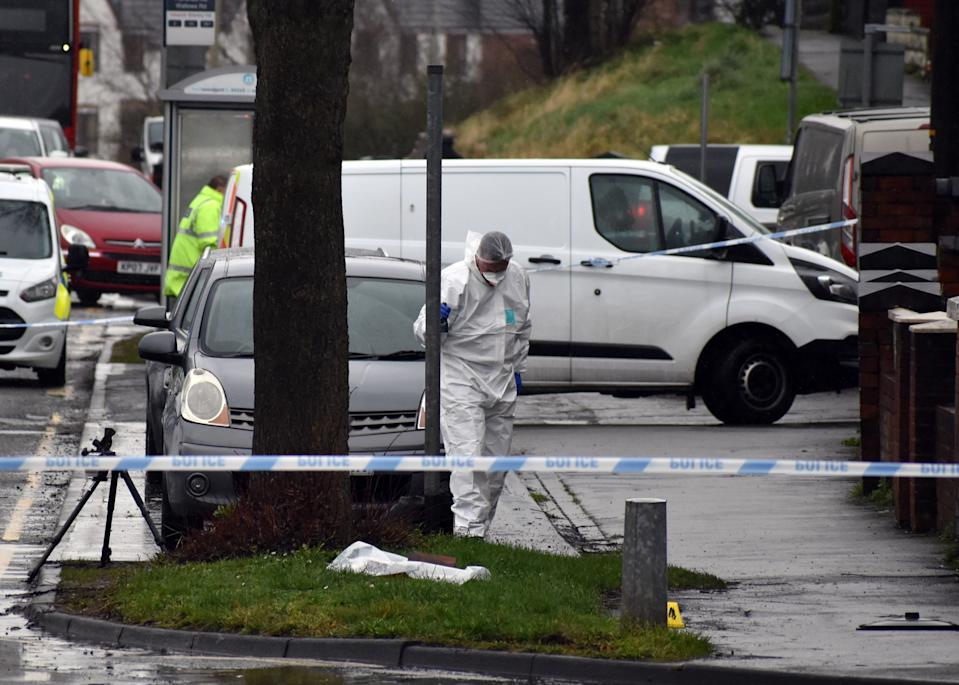 Police have launched a double murder probe after two men were stabbed to death in a suspected robbery at a cannabis factory. (Picture: Matthew Cooper/PA Wire)