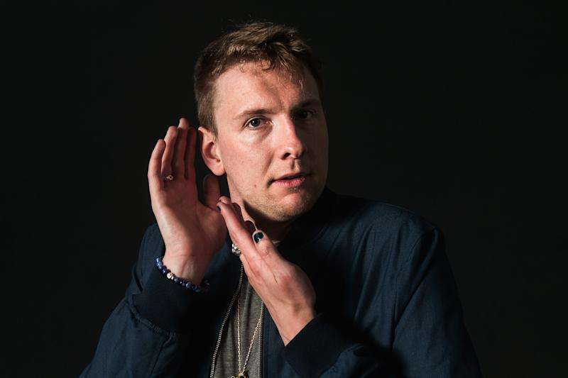 EDINBURGH, SCOTLAND - AUGUST 16: Joe Lycett attends a photocall during the Edinburgh International Book Festival on August 16, 2017 in Edinburgh, Scotland. (Photo by Simone Padovani/Awakening/Getty Images)