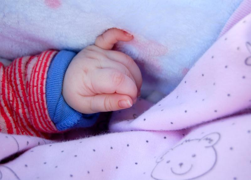 image of a baby hand