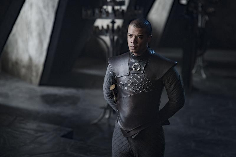 Grey Worm (Jacob Anderson) will fight to the bitter end on 'Game of Thrones' (Photo: Helen Sloan/HBO)