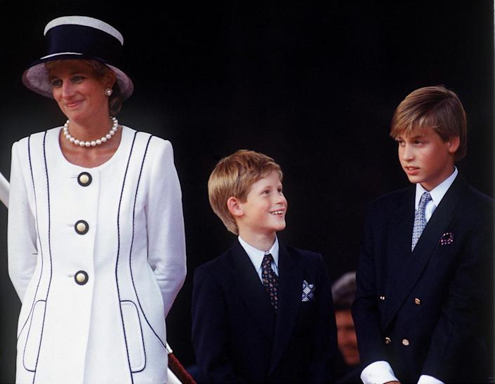 Brothers Prince Harry and Prince William lost their mother, Princess Diana, on August 31, 1997 [Photo: Getty]
