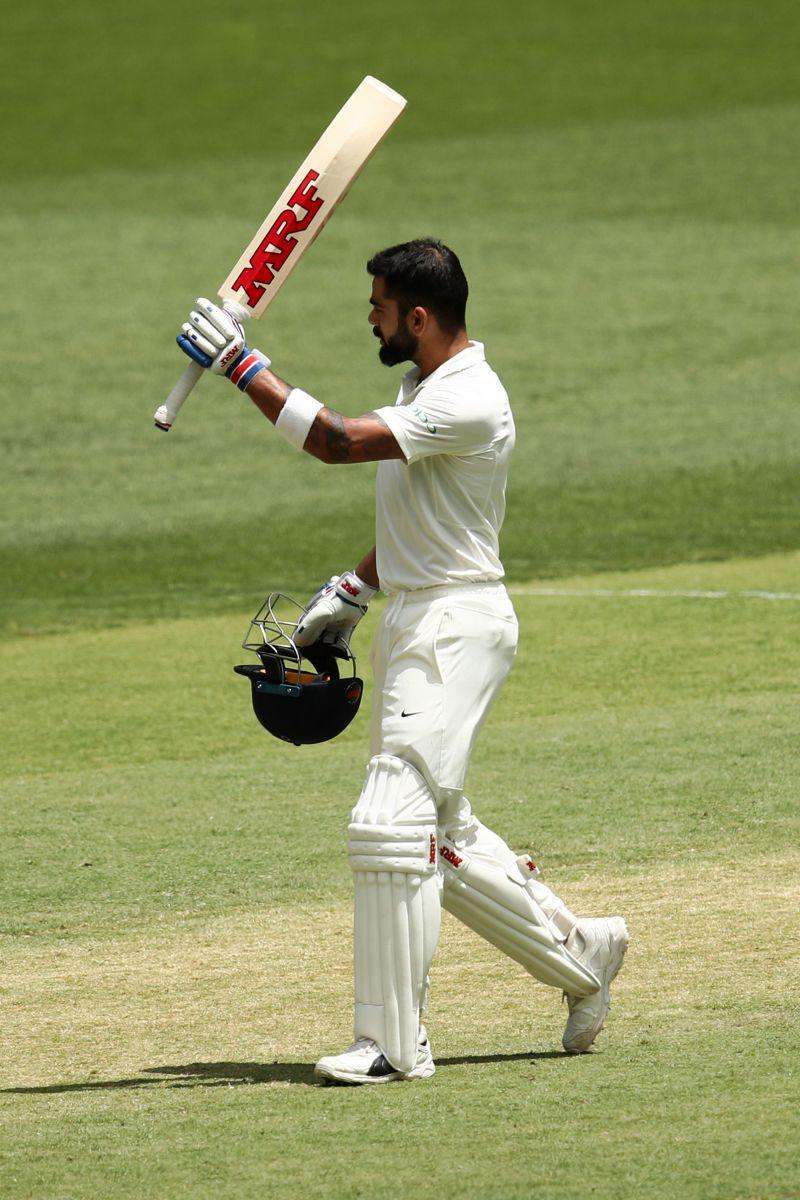 Virat Kohli would be itching to raise that bat again.