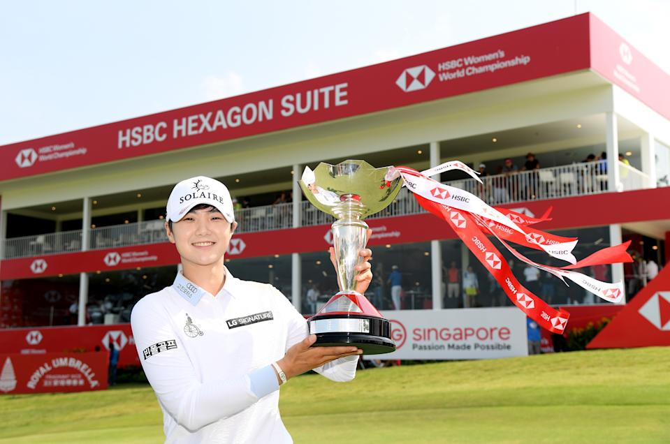 HSBC Women's World Championship 2019 winner Park Sung-hyun. (PHOTO: Ross Kinnaird/Getty Images)