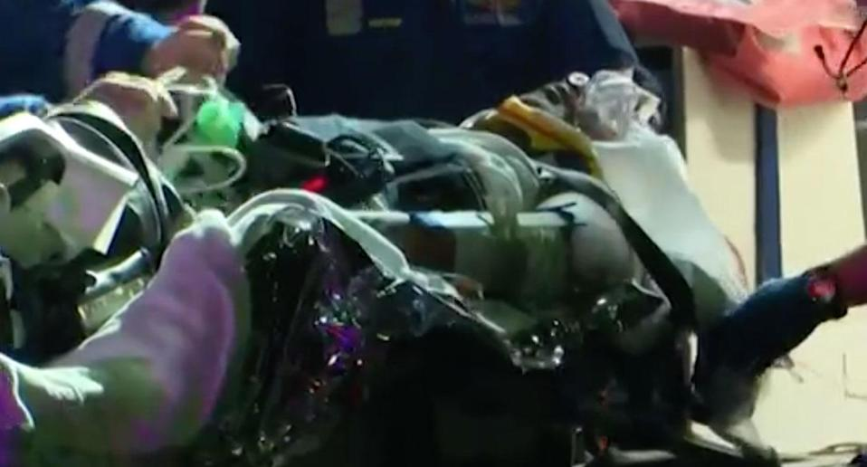 Sydney father of two Zeeshan Ahmed has been hospitalised after he was attacked outside his Lakemba home. Source: 7 News