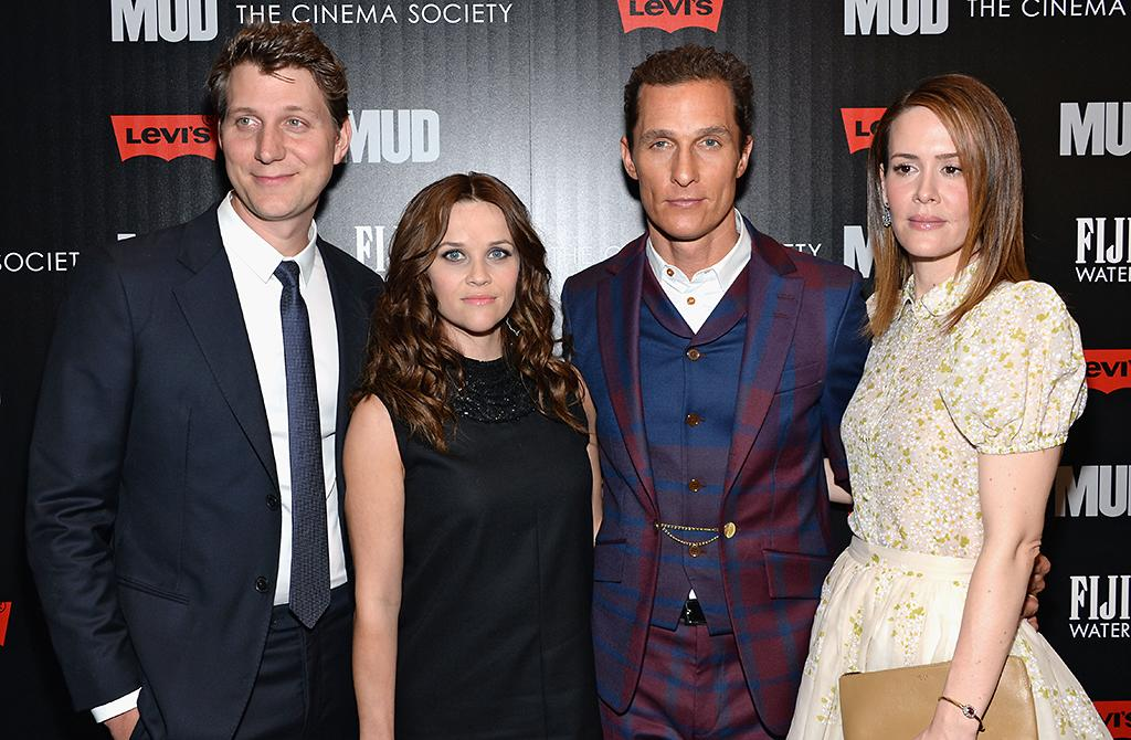 "NEW YORK, NY - APRIL 21:  (L-R) Jeff Nichols, Reese Witherspoon, Matthew McConaughey and Sarah Paulson attend the Cinema Society screening of ""Mud"" at The Museum of Modern Art on April 21, 2013 in New York City.  (Photo by Dimitrios Kambouris/Getty Images)"