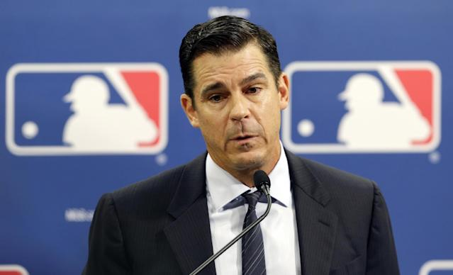 Billy Bean was appointed as MLB's ambassador for inclusion last summer. (AP)