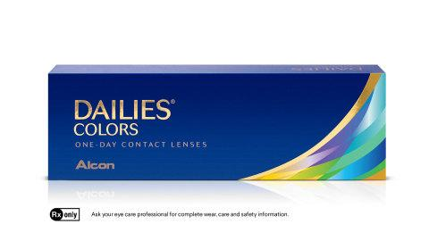 New Alcon DAILIES® COLORS Contact Lenses Give Beauty Lovers
