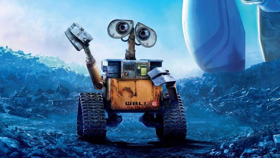 <p> Almost every original animation produced by Pixar has been a groundbreaking classic. Never has that been more true than with their ninth movie, WALL-E, the story of an ordinary robot who ends up saving the human race. </p> <p> WALL-E is a bold piece of filmmaking: the opening moments are dialogue-free; the distant future sees humankind becoming blobs of meat, unable to stand on our own two feet; and Earth is a desolate junkyard devoid of life. That's all pretty heavy for a children's movie. Yet, amid the bleak dystopian setting is a remarkably heart-warming tale of an innocent, simple droid finding love with a futuristic companion, EVE. There have been few sci-fi movies as oddly romantic. </p>