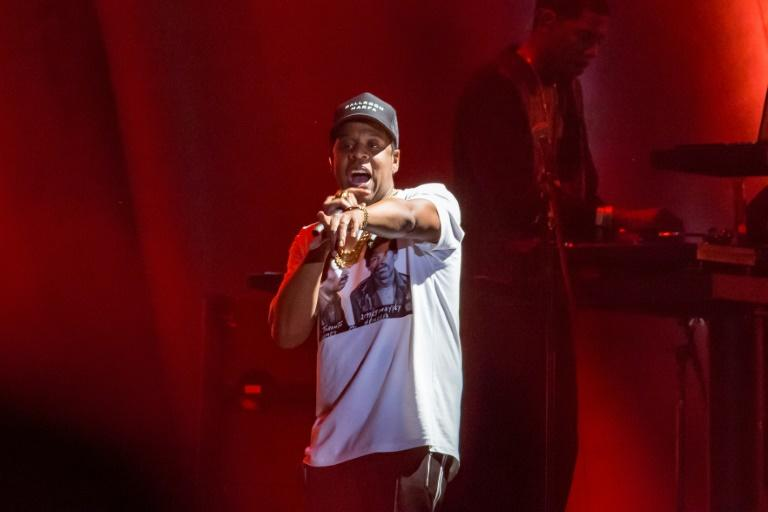 Jay-Z, shown here performing in 2017, surprised fans with a return to Spotify