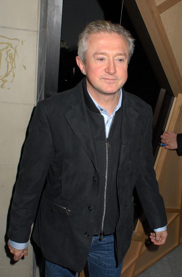 Louis Walsh also joined the contestants for a boogie.