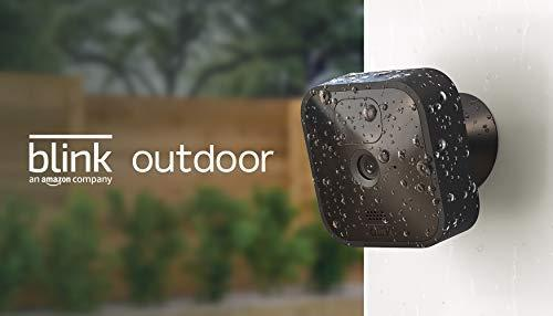 Blink Outdoor - wireless, weather-resistant HD security camera, two-year battery life, motion d…