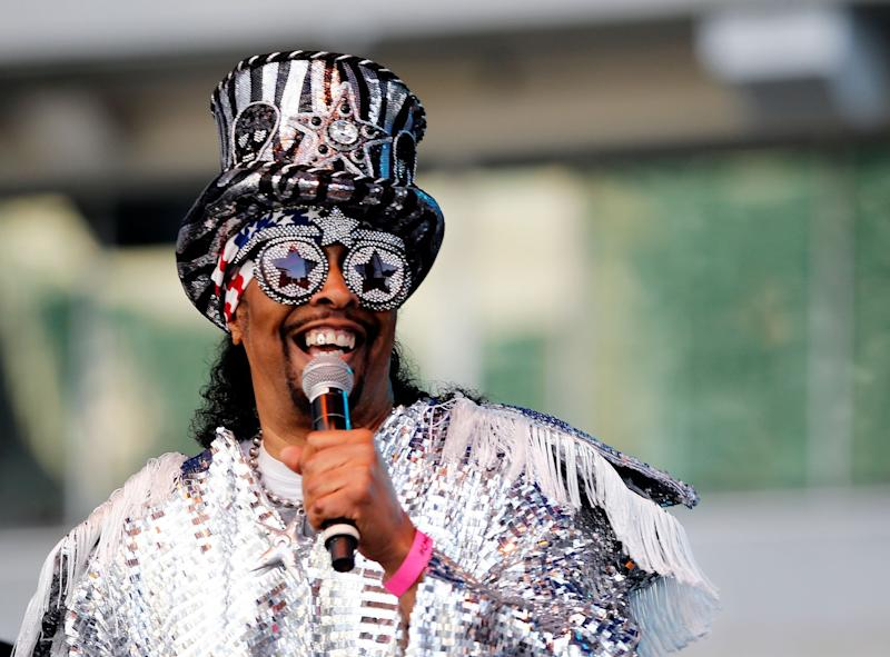 Funk legend Bootsy Collins says he no longer can play live concerts