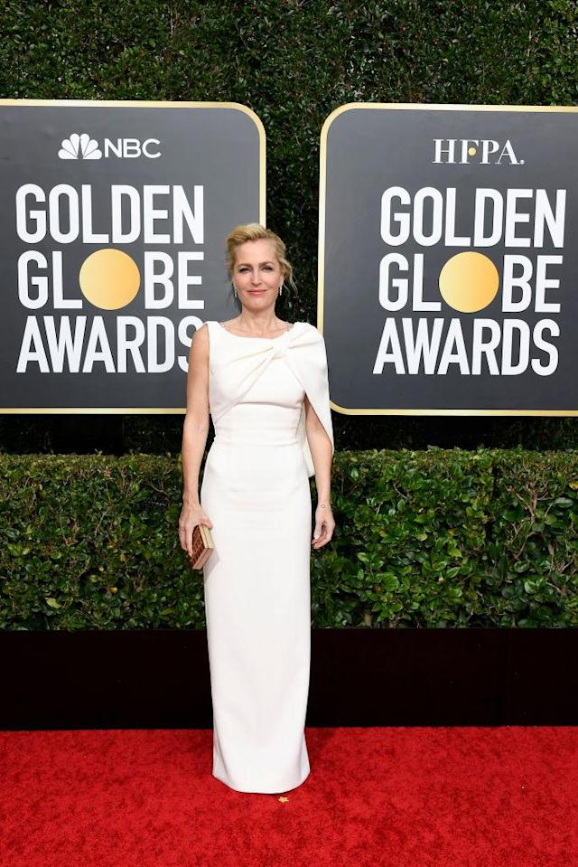 Gillian Anderson arrives. Foto: Getty Images
