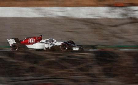 Motor Racing - F1 Formula One - Formula One Test Session - Circuit de Barcelona-Catalunya, Montmelo, Spain - March 6, 2018 Sauber's Marcus Ericsson during testing REUTERS/Juan Medina