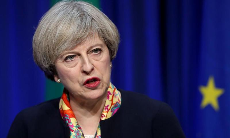 Theresa May is facing increased pressure to guarantee the rights of EU citizens.