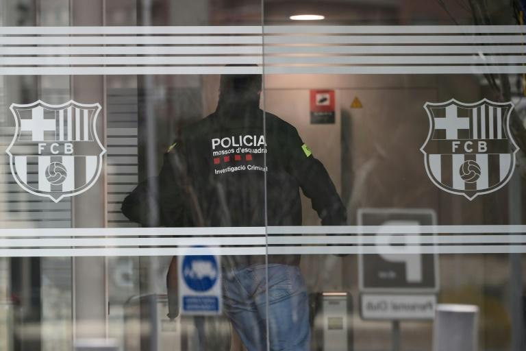 Bartomeu was detained after police raided Barcelona's offices on Monday