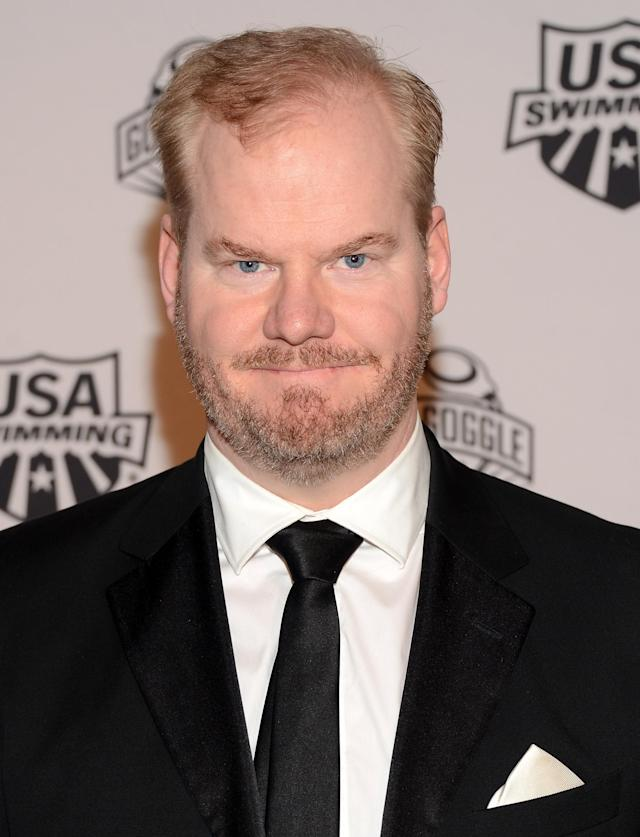 NEW YORK, NY - NOVEMBER 19: Comedian Jim Gaffigan attends the 2012 Golden Goggle awards at the Marriott Marquis Times Square on November 19, 2012 in New York City. (Photo by Stephen Lovekin/Getty Images)