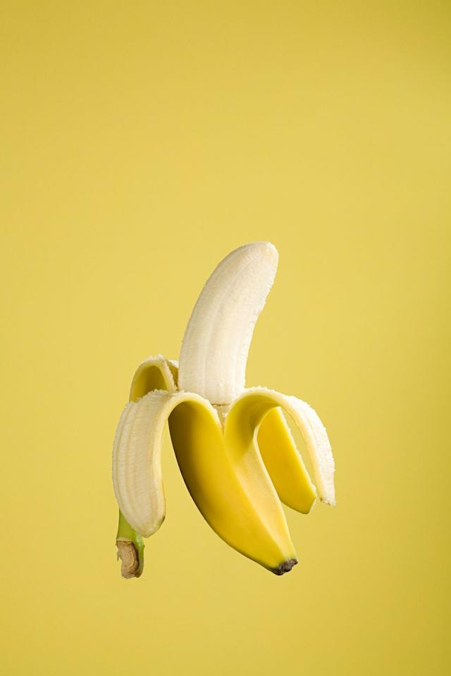 """<p>Freezing bananas is a brilliant thing to do when you notice that your bananas are getting more ripe than you'd personally like to eat them. If you freeze them, you can either use them for <a href=""""https://www.delish.com/uk/cooking/recipes/g28843835/banana-bread/"""" target=""""_blank"""">banana bread</a> or a super-easy <a href=""""https://www.delish.com/uk/cooking/recipes/a28869255/banana-ice-cream/"""" target=""""_blank"""">three-ingredient ice cream.</a> </p><p>There are a couple of ways to freeze bananas. You can either freeze them whole in their skins, or you can peel them, slice them and freeze them like that in a freezer-safe container. That way they're ready to be made into ice cream, or can be chucked into a smoothie.</p><p><strong>How to defrost frozen bananas</strong></p><p>To thaw a banana that's been frozen in its skin, simply remove from the freezer and allow to thaw at room temperature until you're able to remove the skin. Once you can do that, slip it out of its skin and continue to thaw at room temperature.</p><p><strong>How long do frozen bananas last?</strong></p><p>According to the <a href=""""https://www.foodsafety.gov/keep-food-safe/foodkeeper-app"""" target=""""_blank"""">Food Safety </a>website, frozen bananas should last for 2 - 3 months.</p>"""