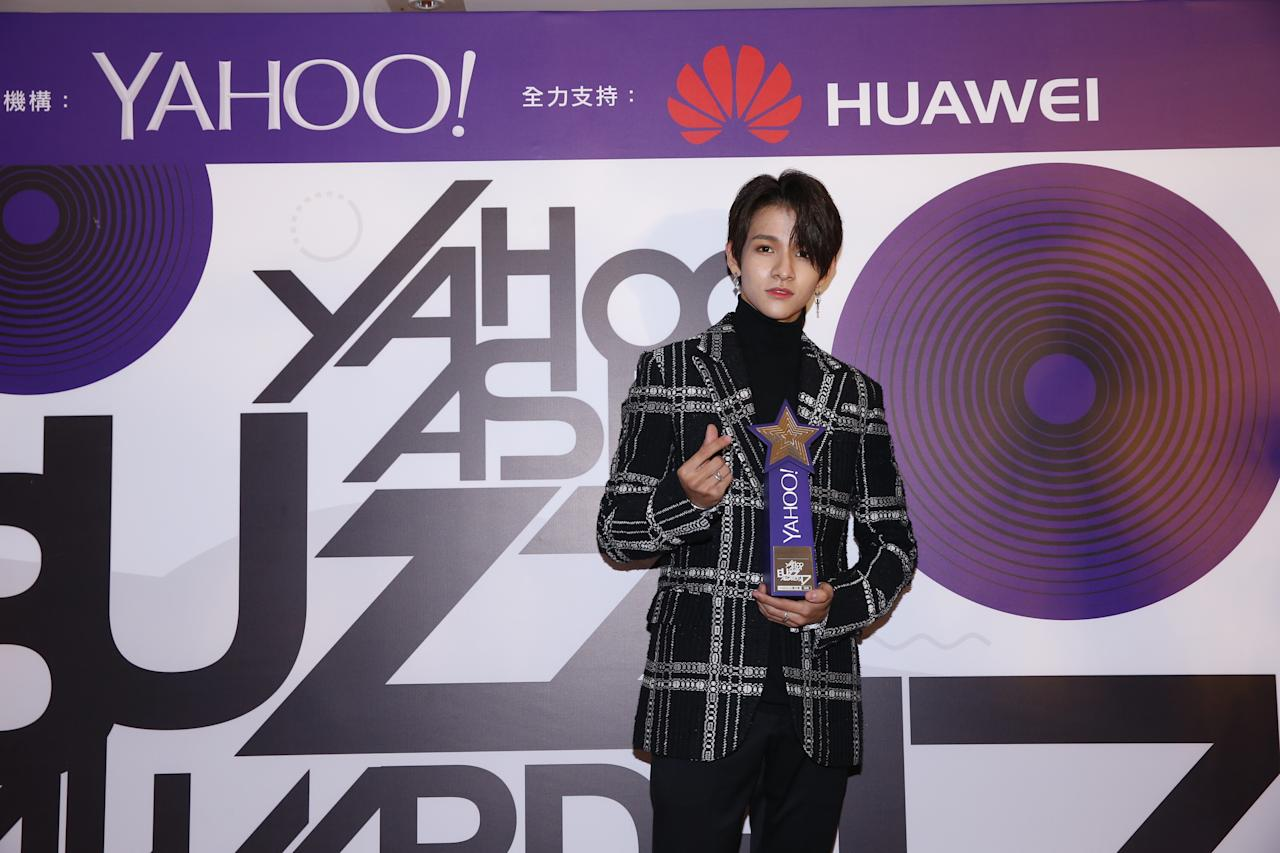 <p>Samuel Kim wins Most Searched Korean New Singer at the Yahoo Asia Buzz Awards 2017 in Hong Kong on Wednesday (6 December).</p>