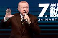 Erdogan assumed the power to pull Turkey out of treaties without parliament's approval in 2018.