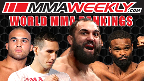 MMA Top 10 Rankings: Welterweight Division Undergoes Major Shake-up