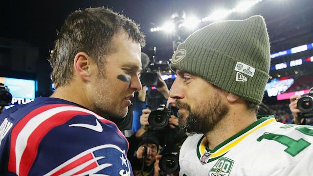 Aaron Rodgers took on Tom Brady on Sunday and impressed the New England Patriots staff, but he could not inspire victory.