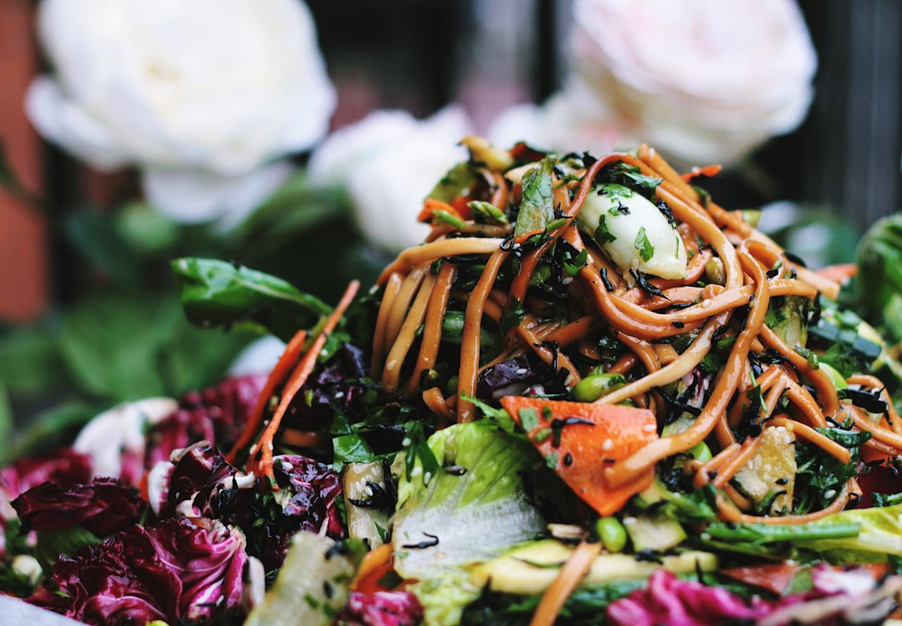 <p>When it comes to eating out with confused nonvegans, Asian cuisine is usually your safest bet. Scope out the local scene on Yelp, and find out what Asian spots are worth checking out!</p>