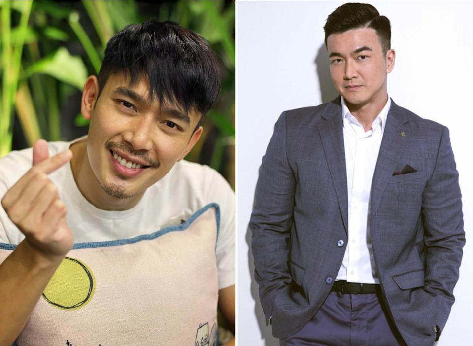 Singaporean actor Elvin Ng (left) and Taiwanese actor-model Patrick Lee. (Photos: Instagram)