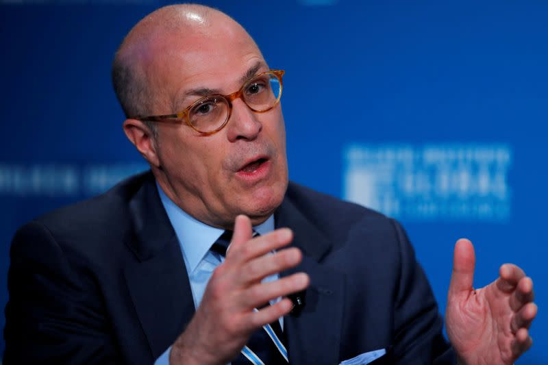 Chairman of the U.S. Commodity Futures Trading Commission Giancarlo speaks at the Milken Institute 21st Global Conference in Beverly Hills