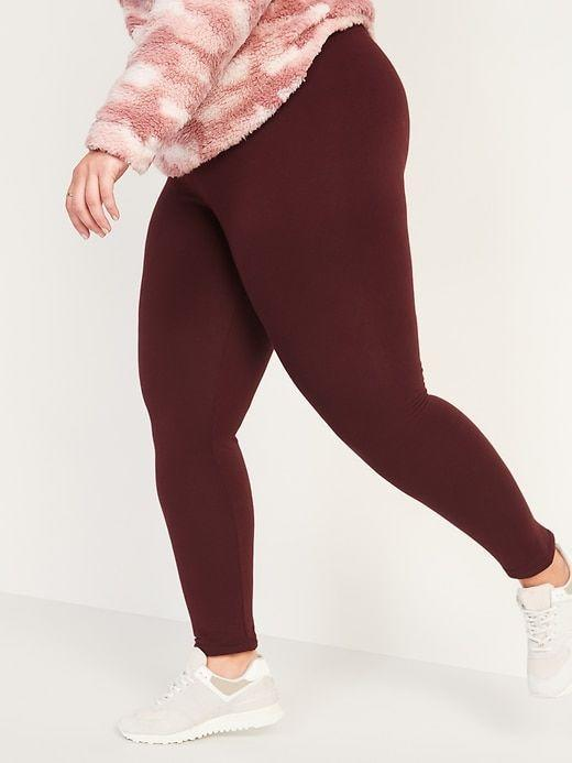 """<p><strong>Old Navy</strong></p><p>oldnavy.gap.com</p><p><strong>$23.99</strong></p><p><a href=""""https://go.redirectingat.com?id=74968X1596630&url=https%3A%2F%2Foldnavy.gap.com%2Fbrowse%2Fproduct.do%3Fpcid%3D1154631%26pid%3D655131&sref=https%3A%2F%2Fwww.seventeen.com%2Ffashion%2Fg34440479%2Fbest-winter-leggings%2F"""" rel=""""nofollow noopener"""" target=""""_blank"""" data-ylk=""""slk:Shop Now"""" class=""""link rapid-noclick-resp"""">Shop Now</a></p><p>With a high-waist and easy pull-on style, you're going to want to lounge in these super soft, cozy-lined leggings all winter long. The best part? They're only $24. </p>"""