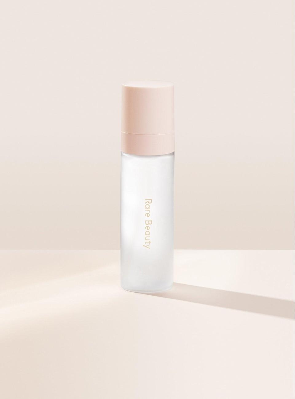 <p>The <span>Rare Beauty Always an Optimist 4-in-1 Mist</span> ($24) is a multitasker that primes, sets, hydrates, and gives your skin a dewy glow all with help from one to two long-lasting spritzes.</p>