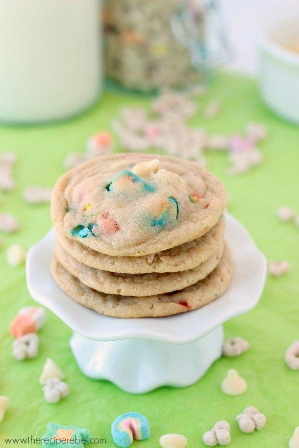 "<p>They're magically delicious.</p><p>Get the recipe from <a href=""http://www.thereciperebel.com/white-chocolate-lucky-charms-cookies/"" rel=""nofollow noopener"" target=""_blank"" data-ylk=""slk:The Recipe Rebel"" class=""link rapid-noclick-resp"">The Recipe Rebel</a>.</p>"