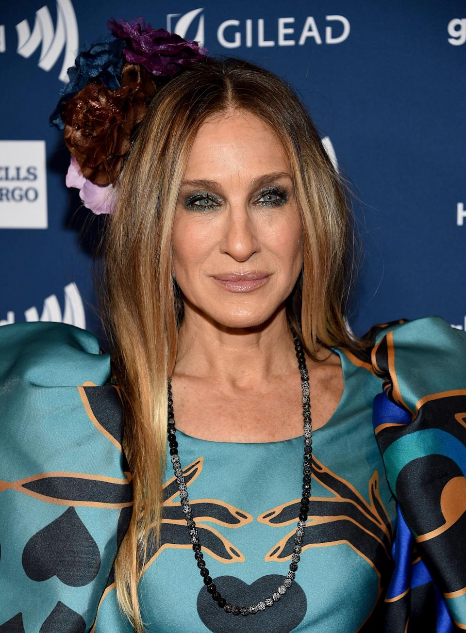 Sarah Jessica Parker attends the 30th annual GLAAD Media Awards at the New York Hilton Midtown on Saturday, May 4, 2019, in New York. (Photo by Evan Agostini/Invision/AP)