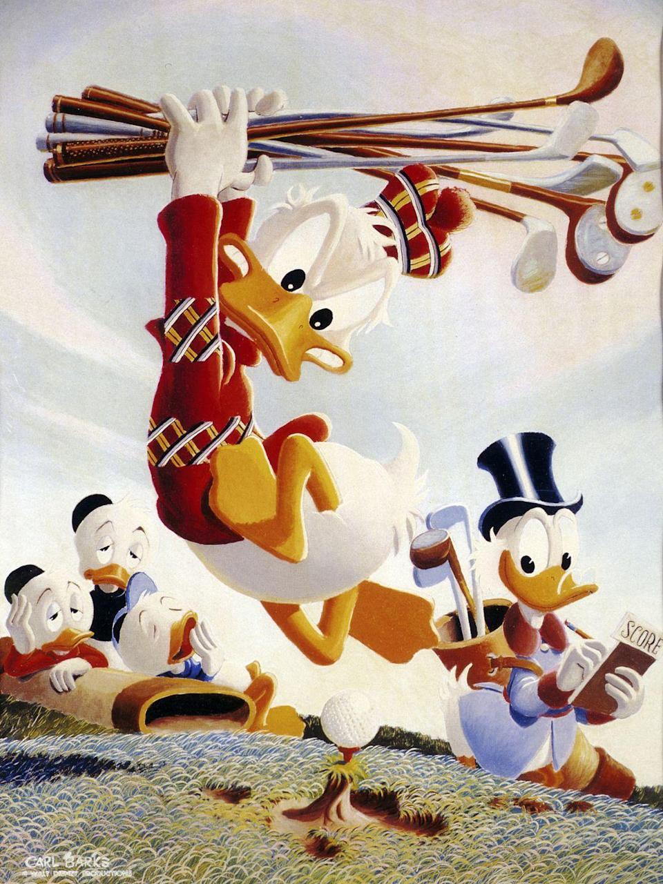 <p>Donald remained the top 10. Could this have anything to do with Walt Disney? Probably. In 1938, the company released <em>Donald's Nephews</em>, an animated cartoon which features Donald Duck being visited by his three nephews, Huey, Dewey, and Louie. Meanwhile, Robert, James, John, Mary, Barbara and Patricia prove consistency was a trend in the 1930s.</p>