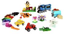 "This set contains 484 pieces for open-ended building play. Suitable for ages 4+. <a href=""https://fave.co/2nbAXzt"" rel=""nofollow noopener"" target=""_blank"" data-ylk=""slk:Shop here."" class=""link rapid-noclick-resp"">Shop here.</a>"