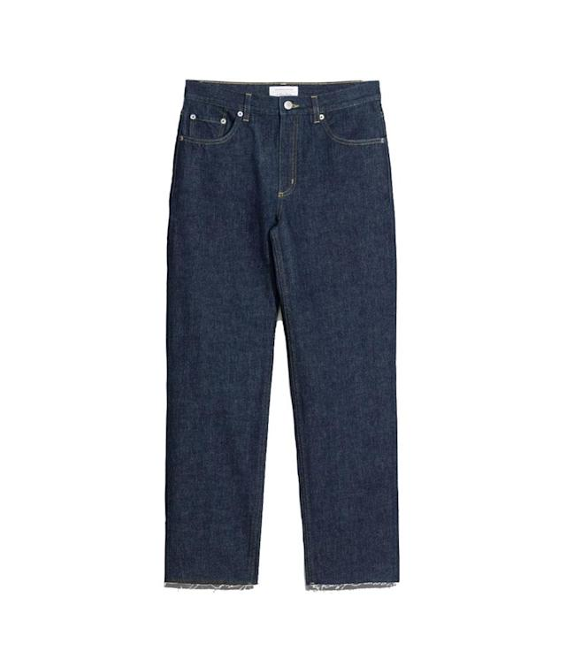 "<p>Relaxed-Fit Raw Edge Jeans, $85, <a href=""http://www.stories.com/us/Ready-to-wear/Trousers_Shorts/Relaxed-Fit_Raw_Edge_Jeans/582932-0480273001.2"" rel=""nofollow noopener"" target=""_blank"" data-ylk=""slk:stories.com"" class=""link rapid-noclick-resp"">stories.com</a> </p>"